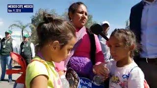 Migrant caravan leaves Mexico City