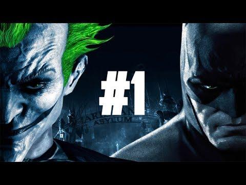 JOKER ELSZABADULT!   Batman Arkham Asylum #1 (1440p 60fps)