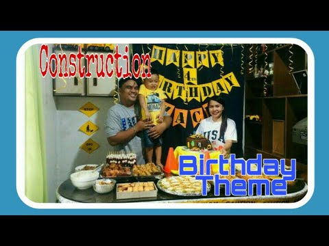 Construction Birthday Theme | Simple & Affordable Birthday Ideas | DIY Construction Birthday Party