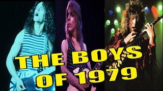 Eddie Van Halen, Randy Rhoads & George Lynch | The Boys of 1979