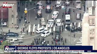 BREAKING: 4th night of George Floyd protests as unrest spreads to other cities