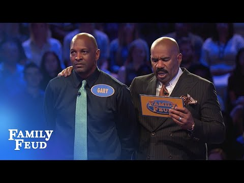 2 Questions left. Gary needs 70 points   Family Feud
