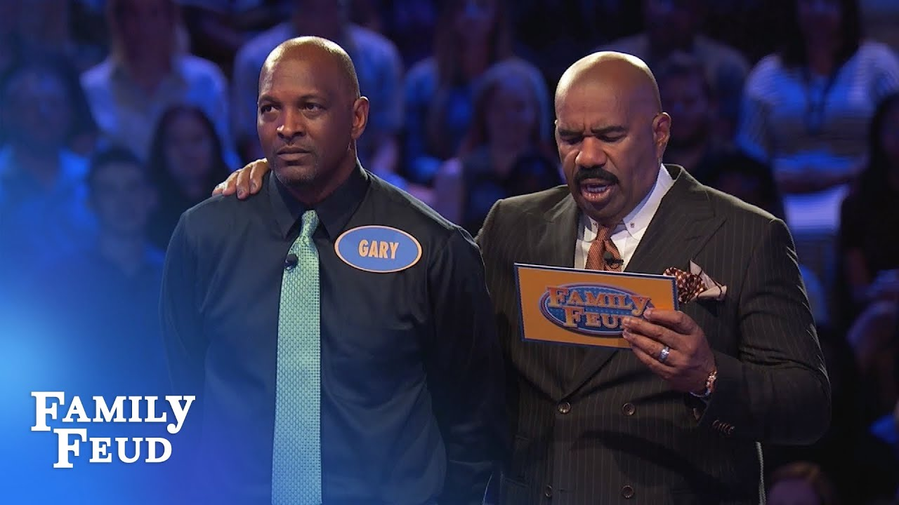 2 Questions left  Gary needs 70 points   Family Feud