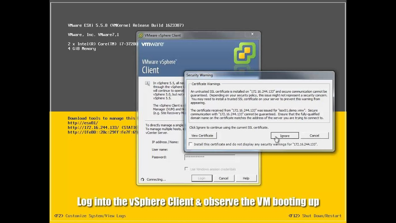 VMware Fusion: Booting a VM via USB | A Virtual Den