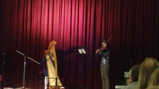 Frère Jacques - Kìa con bướm vàng (Violin & Harp)