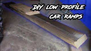 DIY Low Profile Car Ramp (Budget Race Ramps)