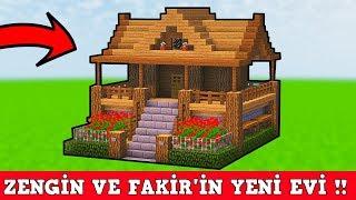 ZENGİN VS FAKİR #110 - Yeni Ev Turu (Minecraft)