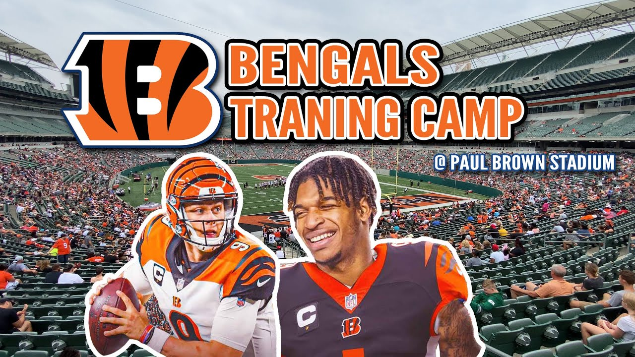 Family Day at Bengals Training Camp - The BEST Time to Take Your Kids