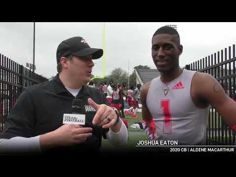 Pylon 7v7 Video Interview: CB Joshua Eaton