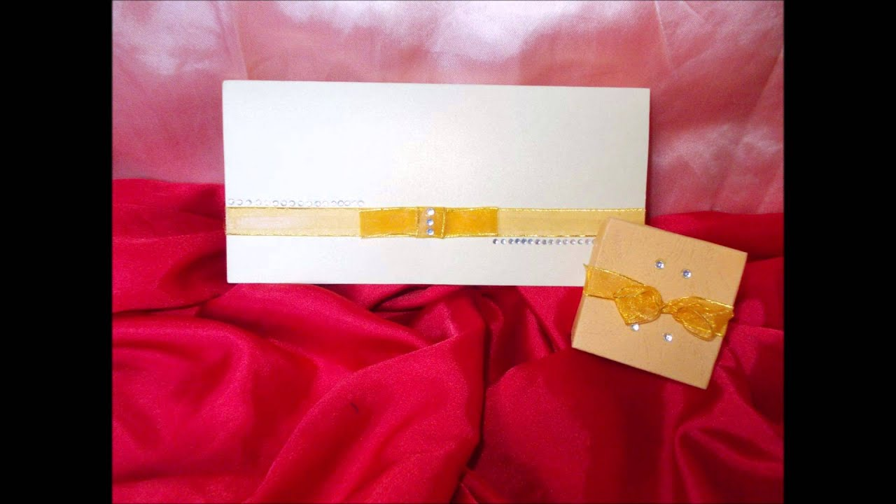 Wedding Cards & Cake Boxes-Talent Creations.wmv - YouTube