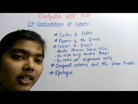 Class 11th History Ncert Ch-8(Part-3)||Confrontations of Cultures