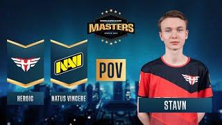 CS:GO - PoV - stavn - Heroic vs. Natus Vincere - DreamHack Masters Spring 2021 - Semi-final