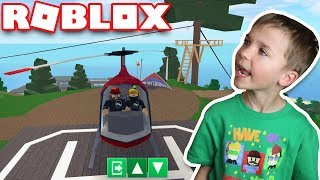 OWNING FANCY HELICOPTER in ROBLOX ROBLOXIAN HIGHSCHOOL
