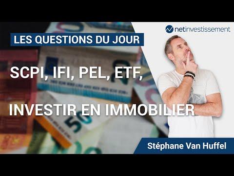 Investir en immobilier, SCPI, IFI, PEL, ETF : les questions du jour [Vidéo BFM]