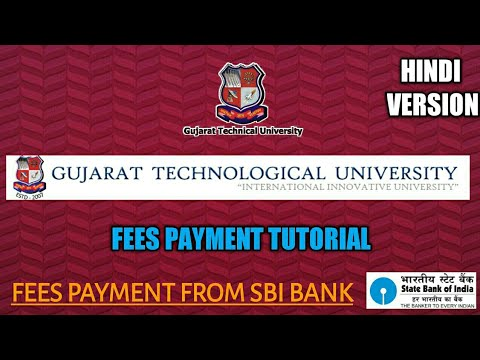 GTU FEES PAYMENTS | FEE PAYMENT FOR GTU COLLEGES IN HINDI | HOW TO PAY A FEE FOR GTU COLLEGE