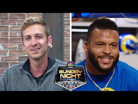 Los Angeles Rams' Aaron Donald explains how he studies opponents | NBC Sports