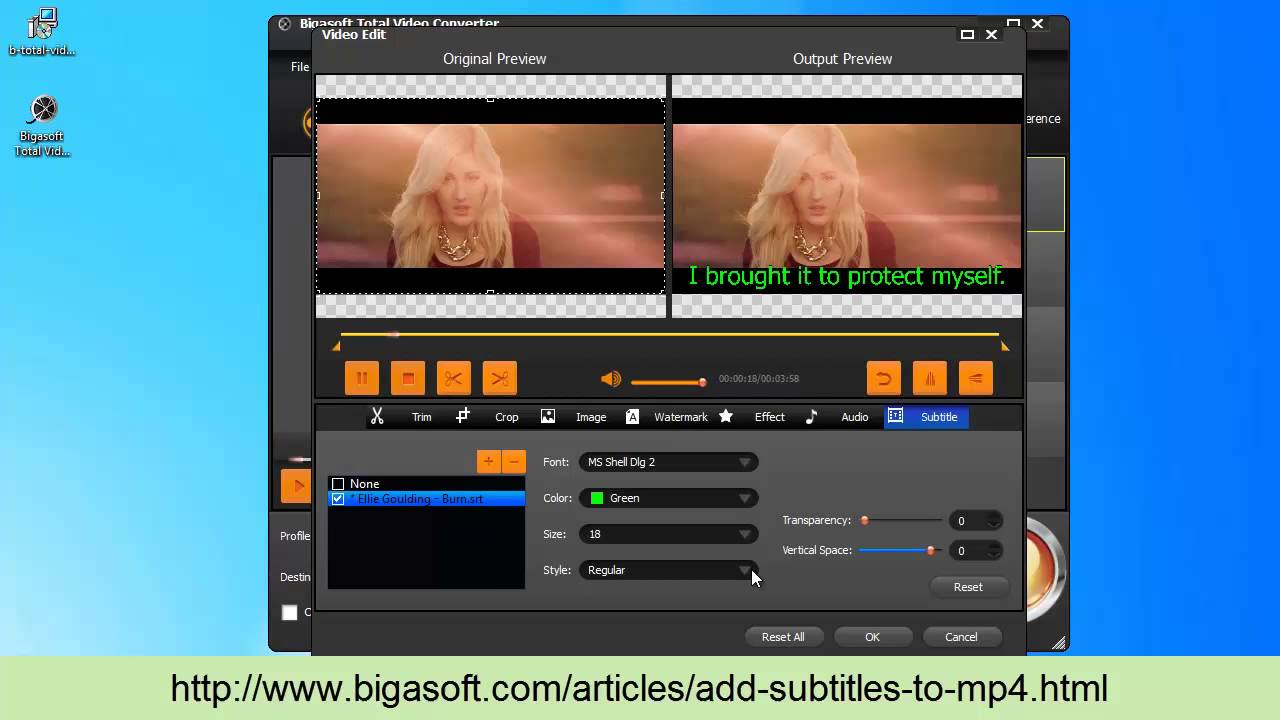 How to add subtitle to mp4 on windows or mac youtube ccuart Choice Image