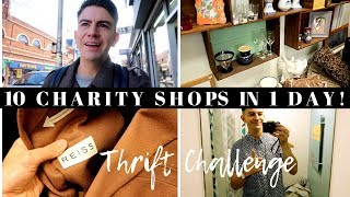 COME THRIFT WITH ME! 10 CHARITY SHOPS IN 1 DAY CHALLENGE WITH FREYA FARRINGTON