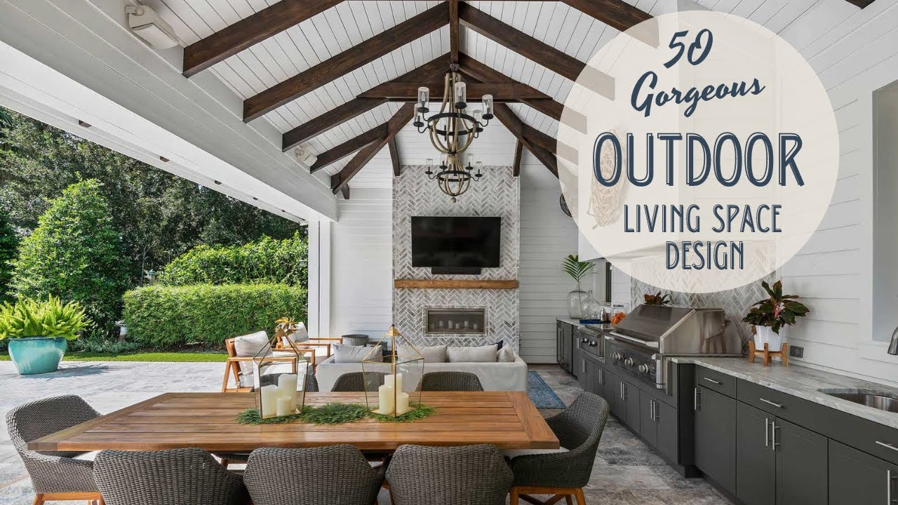 50 Gorgeous Outdoor Living Space