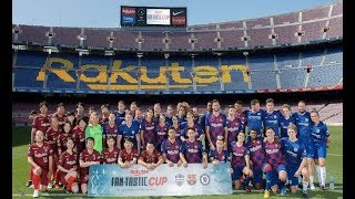 Rakuten Fan-Tastic Cup at Camp Nou with XBuyer, Koko, Robert PG and Spursito | VLOG
