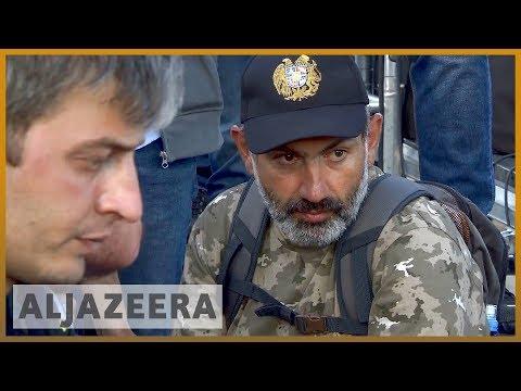 🇦🇲 Protesters Return To Armenia's Streets After Talks Cancelled   Al Jazeera English