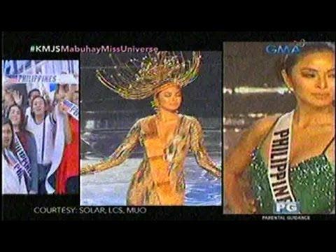 Jessica Soho - Miss Universe Grand Compitation Jan. 29, 2017 Part 1 -- 2017