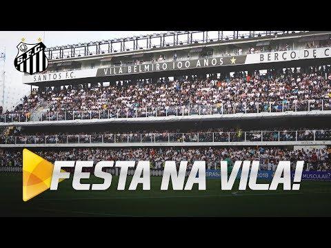 NAÇÃO SANTISTA LOTA A VILA!