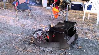 Deer Camp And My Texas Wildfire Chili.mp4