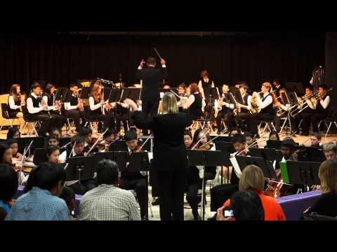 2013-06-10 Troy Boulan Park MS Advanced Band