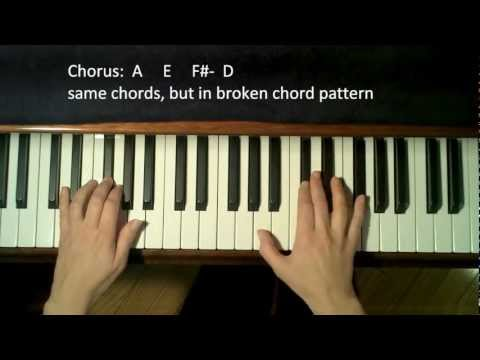 How to Play: Someone Like You by Adele on Piano EASY
