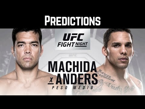 The MMA Money Minute - UFC Fight Night Belem, Brazil: Machida vs Anders- Fight Card Predictions