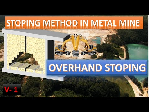 Overhand Stoping / Animation / Stoping Methods / Metal Mining