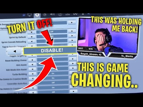 This Fortnite Setting Is Holding You Back! DISABLE IT!