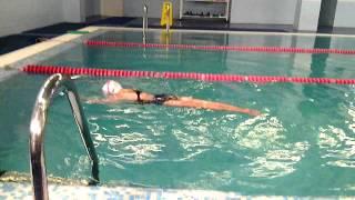 Синхронное плавание. Тренировка.