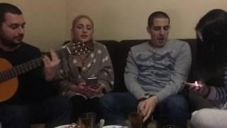 Qrizantemebi / ქრიზანთემები / Marim Akobia & Salome Tetiashvili / Девушки круто спели под гитару