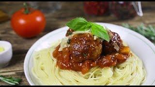 Как приготовить спагетти с фрикадельками в томатном соусе | Простой рецепт Агро-Альянс