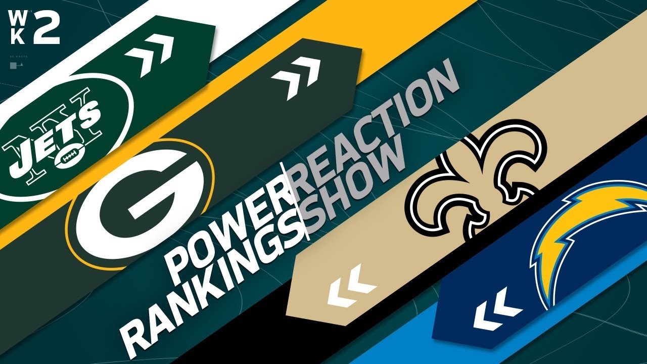 power-rankings-week-2-reaction-show-nfl-network