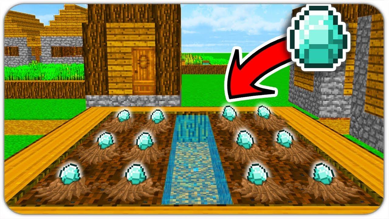 як зробити ферму алмазов в майнкрафт #2