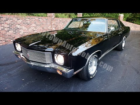 1970 monte carlo for sale old town automobile in maryland youtube1970 monte carlo for sale old town automobile
