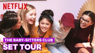 Behind the Scenes Set Tour of The Baby-Sitters Club | Netflix Future