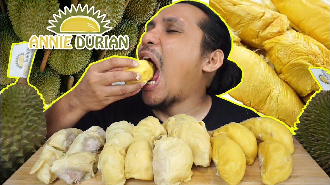 orang korea mana reti buat mukbang durian (mukbang malaysia) DURIAN KAMPUNG, D24, MUSANG KING
