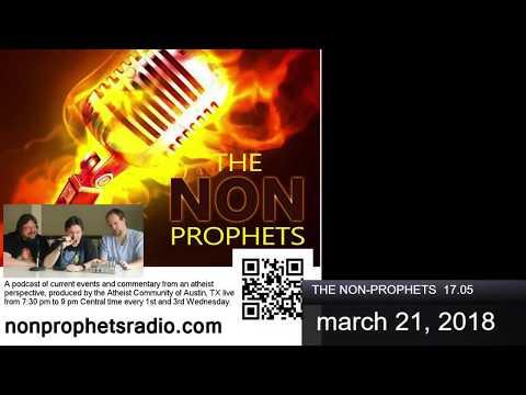 The Non-Prophets 17.05 with Russell Glasser, Denis Loubet, & Ciera Ramirez