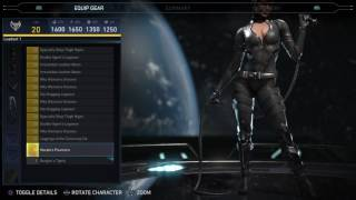 Injustice 2 - Catwoman Epic Gear Showcase/ Special Moves