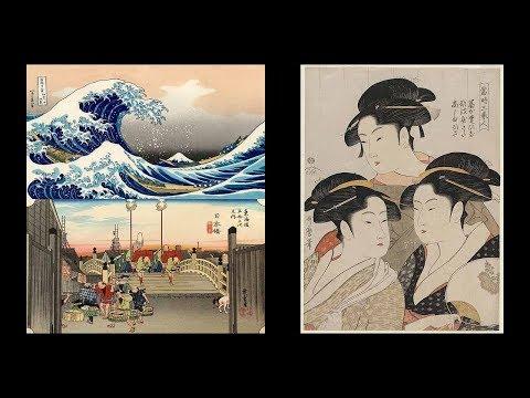 Укиё-э. Японская живопись. Ксилография. Японское ремесло