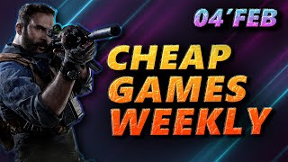 04 Feb | Cheap PC Games of the week | Steam Games, Epic Games, Humble Bundle, GMG, GOG