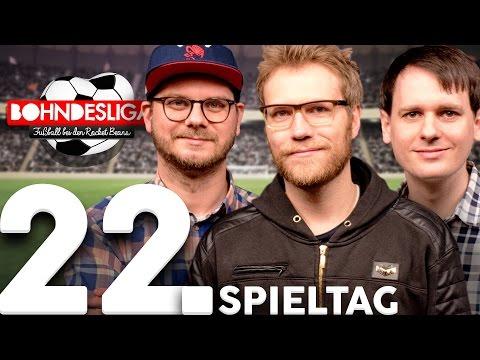 22. Spieltag der Bundesliga in der Analyse | Bohndesliga-Fußball bei Rocket Beans | 27.02.2017