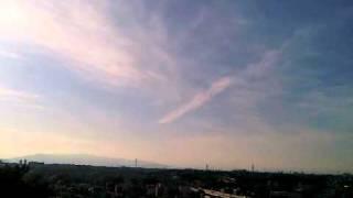 地震雲?  2011年3月18日16:10 横浜
