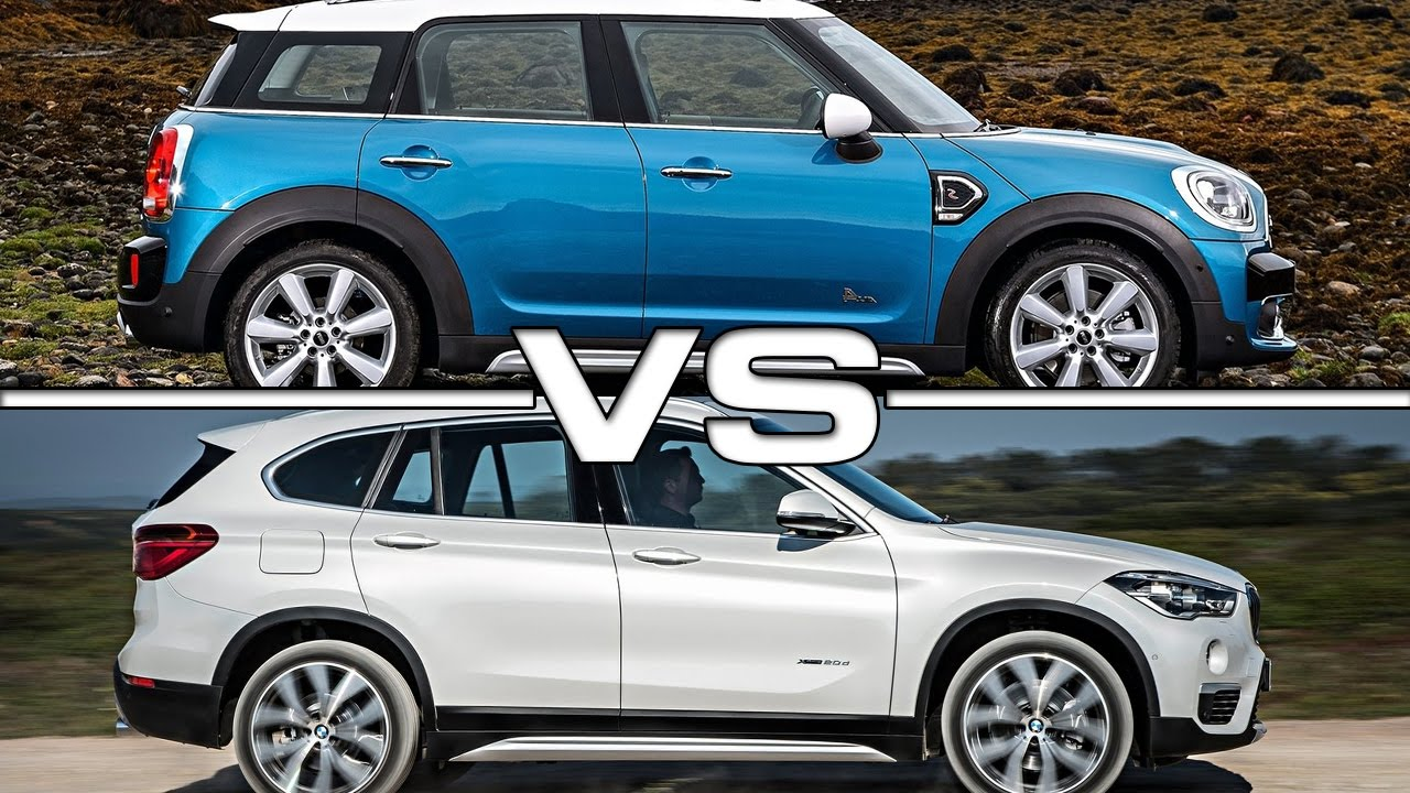 2017 Mini Cooper S Countryman Vs 2016 Bmw X1