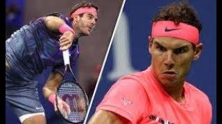 【テニス】ナダルvsデルポトロ 全米オープン2017 準決勝