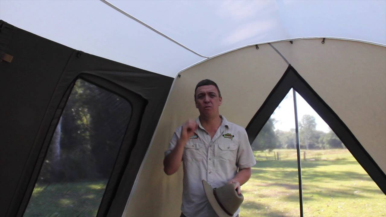 sc 1 st  YouTube & The Camping Guru   How to Clean your Canvas Tent - YouTube